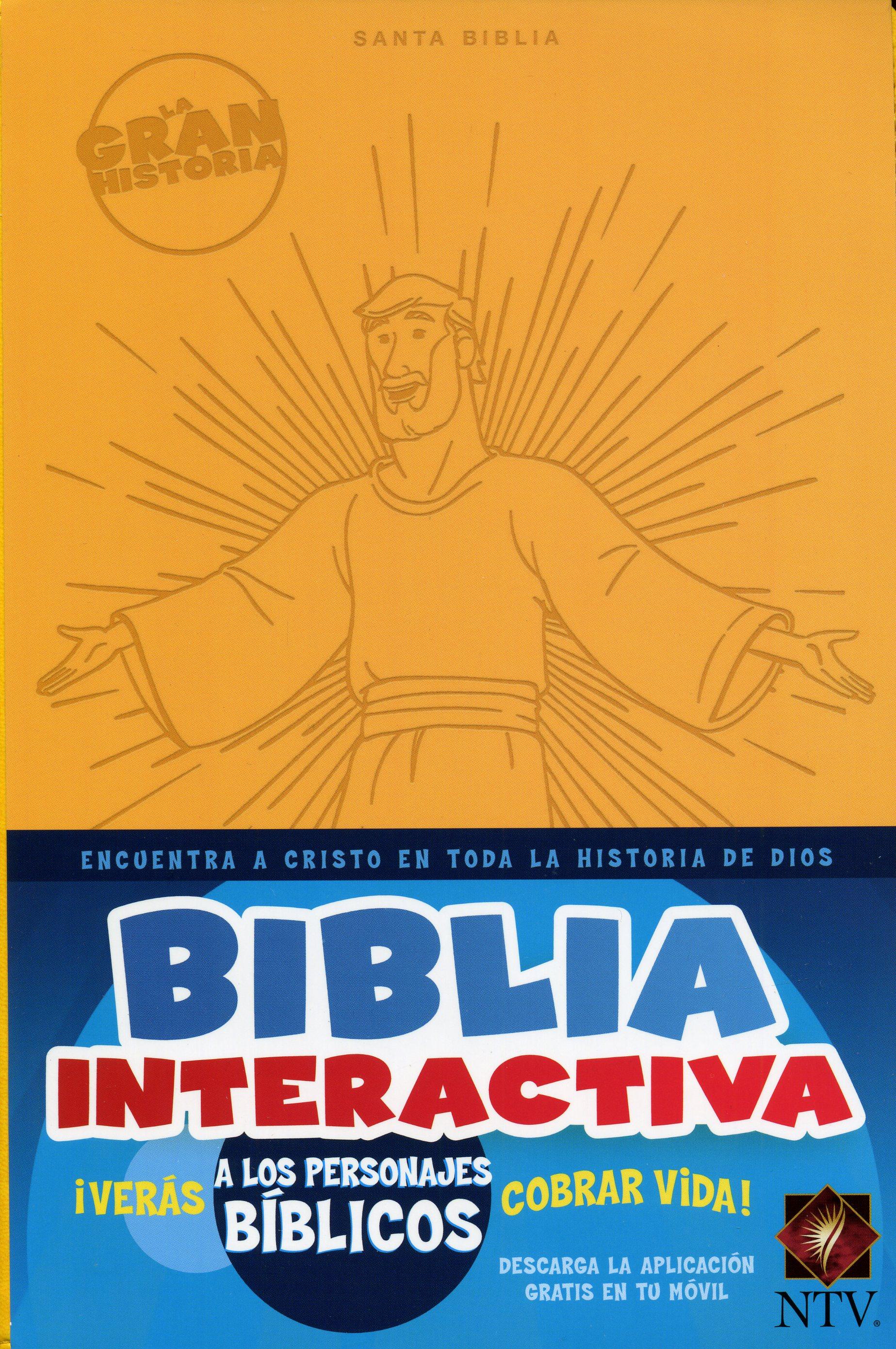 Biblia NTV Gran Historia Interactiva Ama