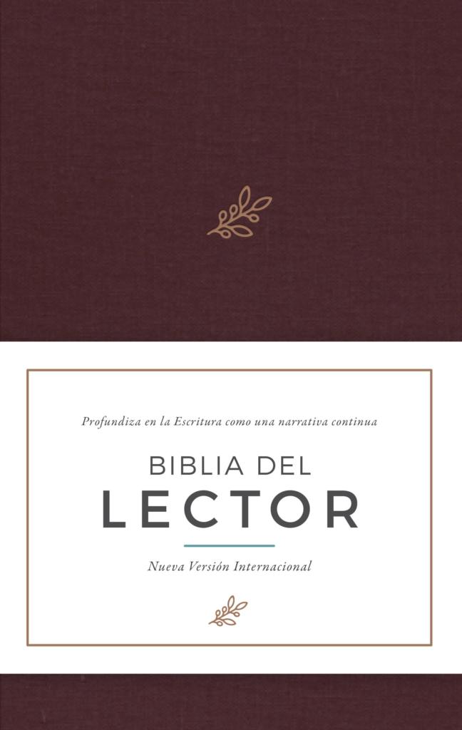 NVI BIBLIA DEL LECTOR  VINO TELA