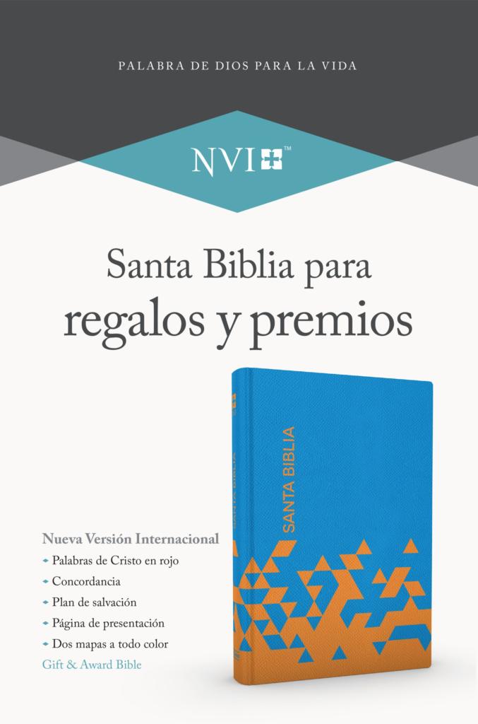 Biblia NVI Premios Y Regalos Azul Papaya