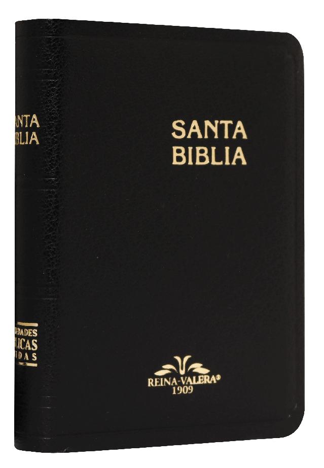 Biblia RV1909 025 Imit Negro Bolsillo