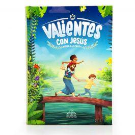 Biblia DHH 045 Valientes Con Jesus Azul