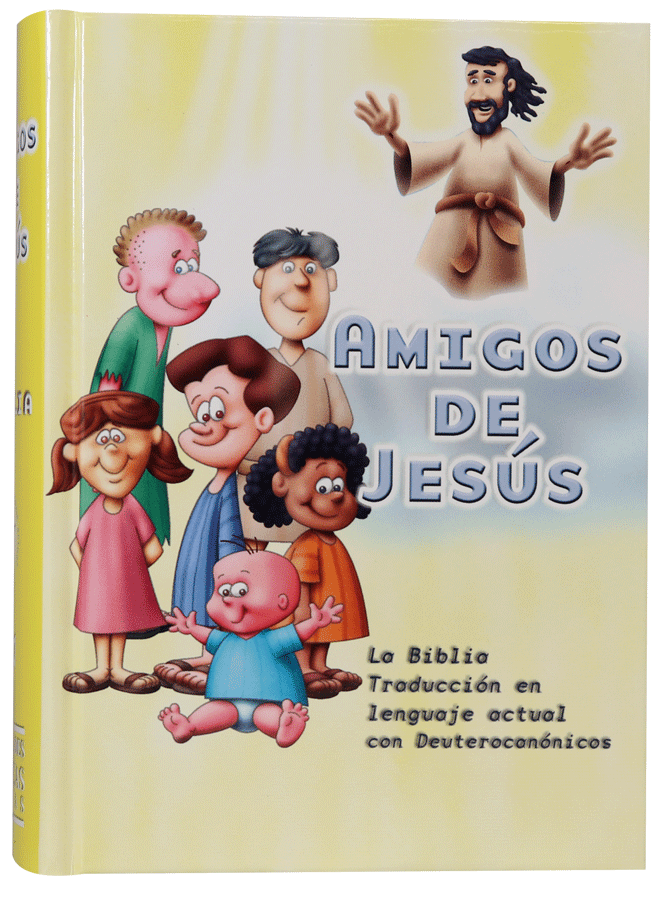Biblia TLA43DKLG Chica TD Amarilla