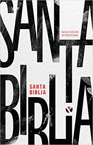 Biblia NVI Rustica Blanco Y Negro
