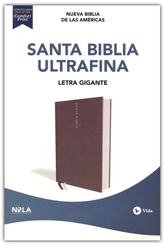 Santa Biblia NBLA Ultrafina