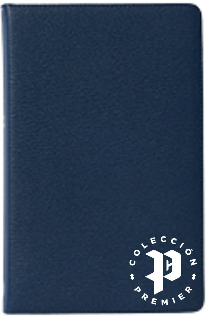 NBLA Biblia Ultrafina LG Premier Azul Marino