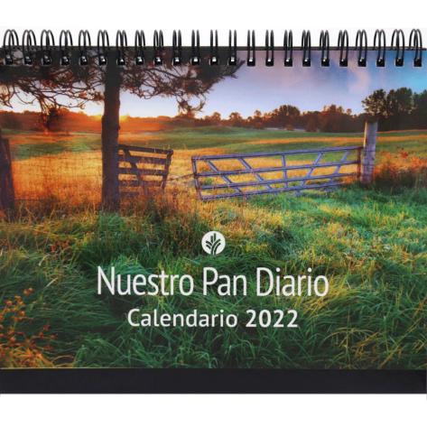 Calenda Escritorio Nuestro Pan Diario 2022