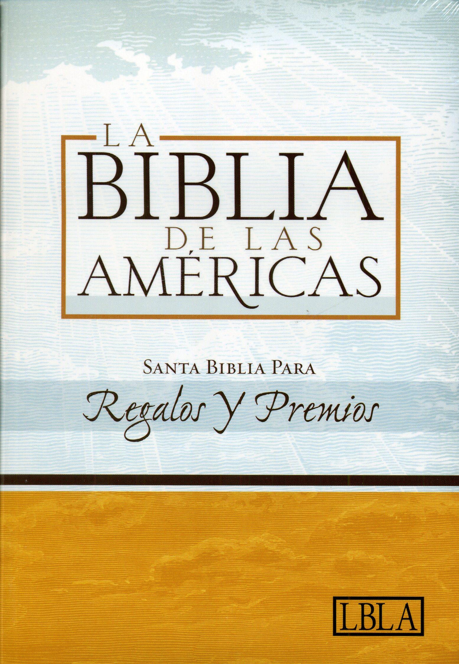 La Biblia de las Américas Premios Y Regalos