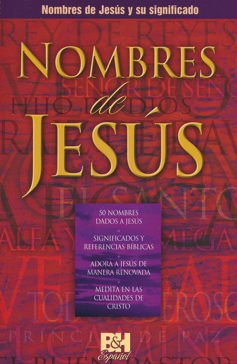 Nombres De Jesus/Folleto/Coleccion Temas