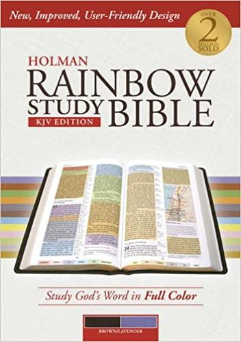 Rainbow Study Bible KJV
