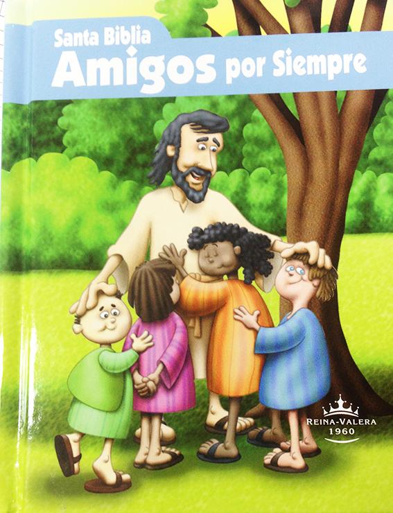 Biblia RVR023ce Amigos Por Siempre Azul