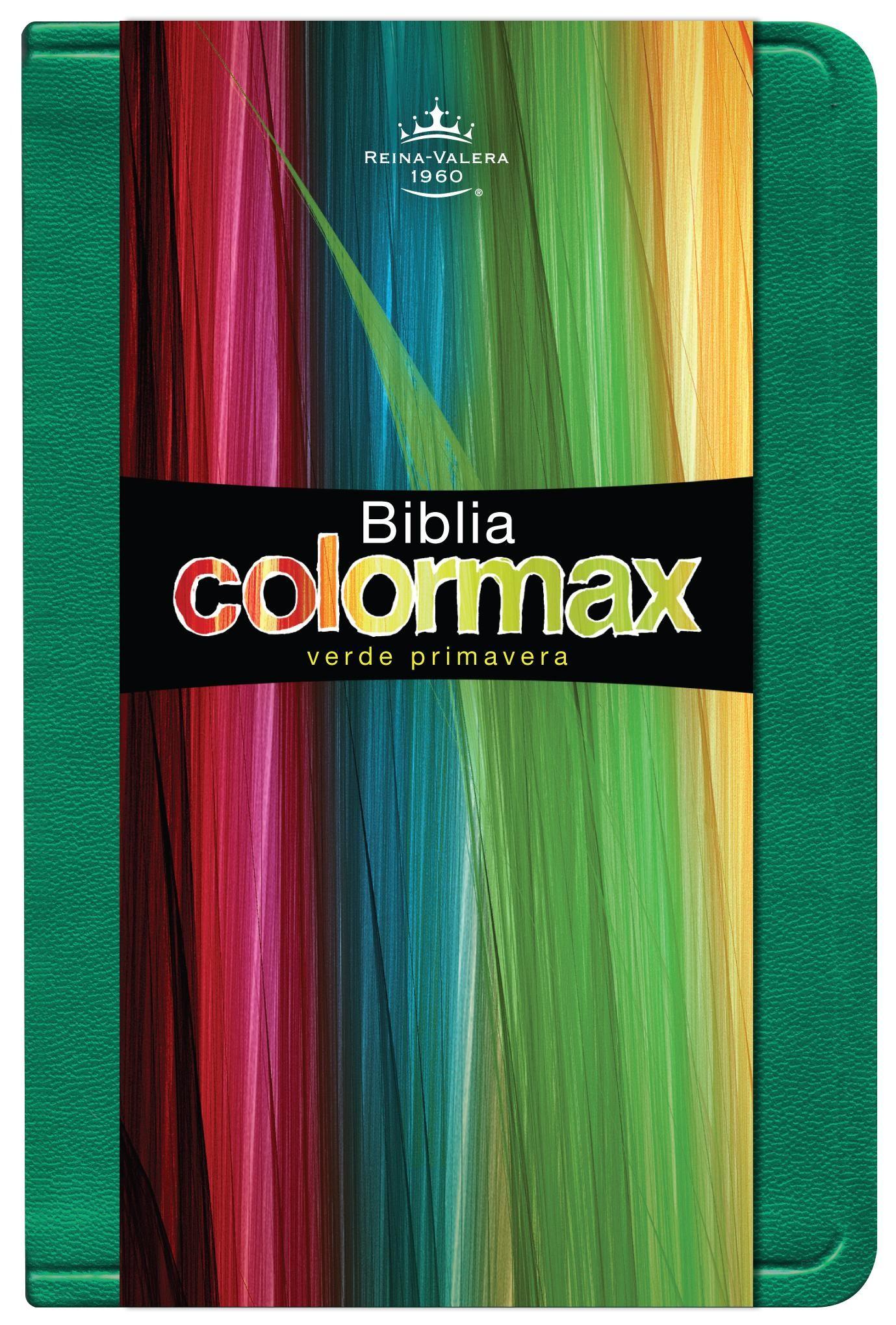 Biblia/RVR/Colormax/Verde Primavera